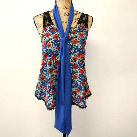 Sophie Blouse Top with Scarf