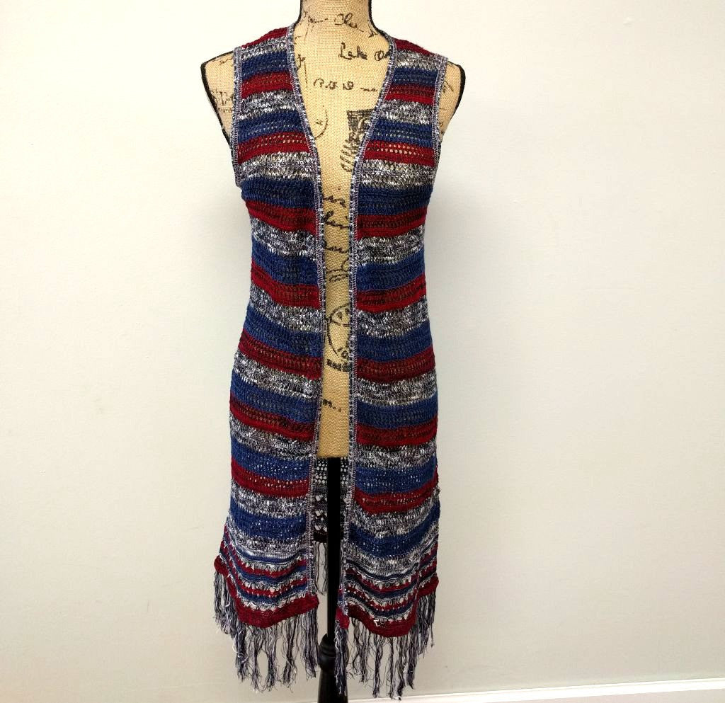 Fourth of July Duster Vest