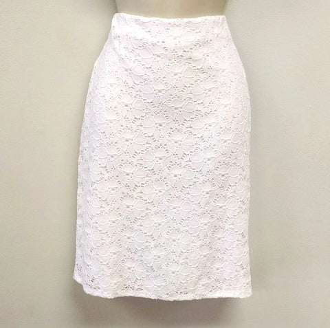 Brooke Lace Pencil Skirt