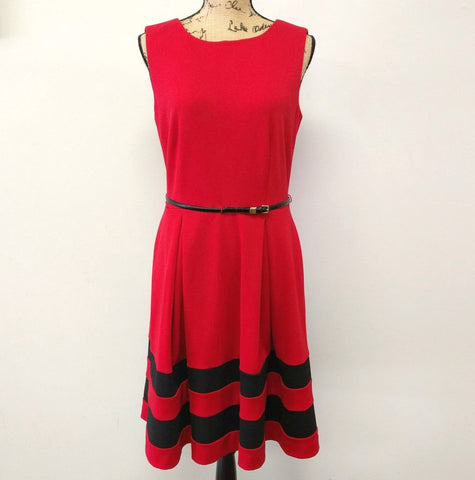Madison Avenue Belted Dress