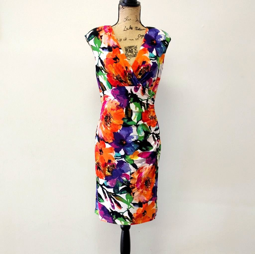 Poppies Floral Dress
