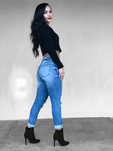Monday Blues Jeans