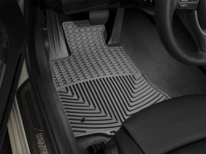 WeatherTech 12 Ford Focus Front and Rear Rubber Mats - Black W254-W272
