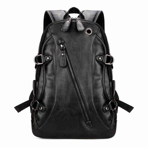 VICUNA POLO PU Leather Travel Backpack