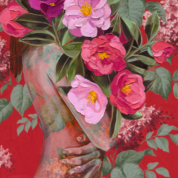 Red Splendour - Fine Art Print - Jessica Watts Art