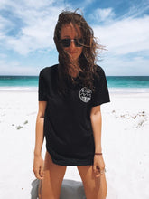 Be Kind To The Ocean - ORGANIC BLACK T-SHIRT