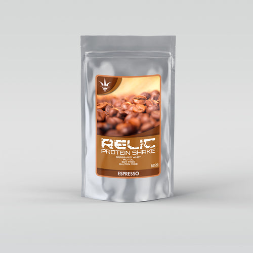 Grass Fed Whey - Espresso