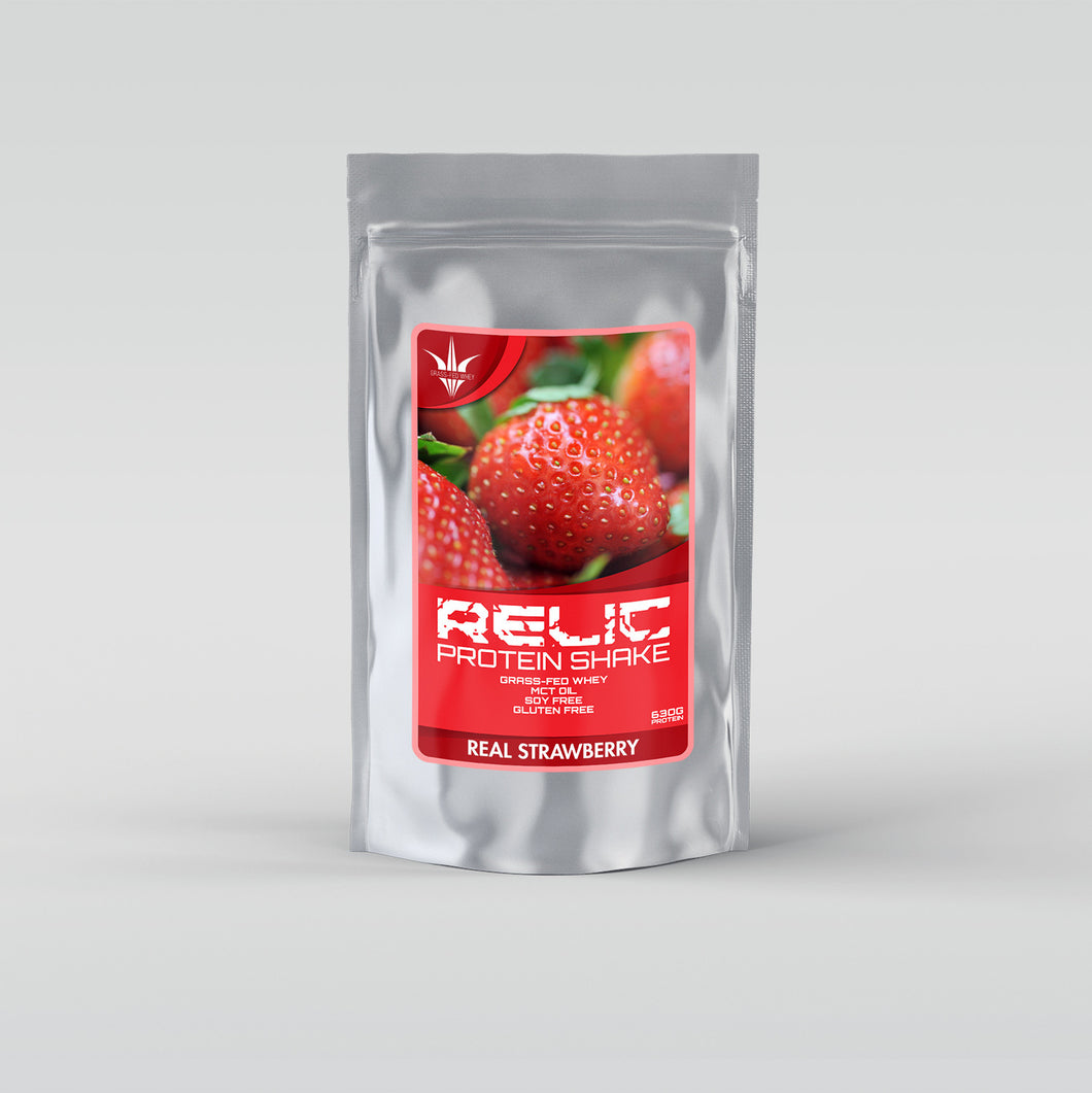 Grass Fed Whey - Real Strawberry