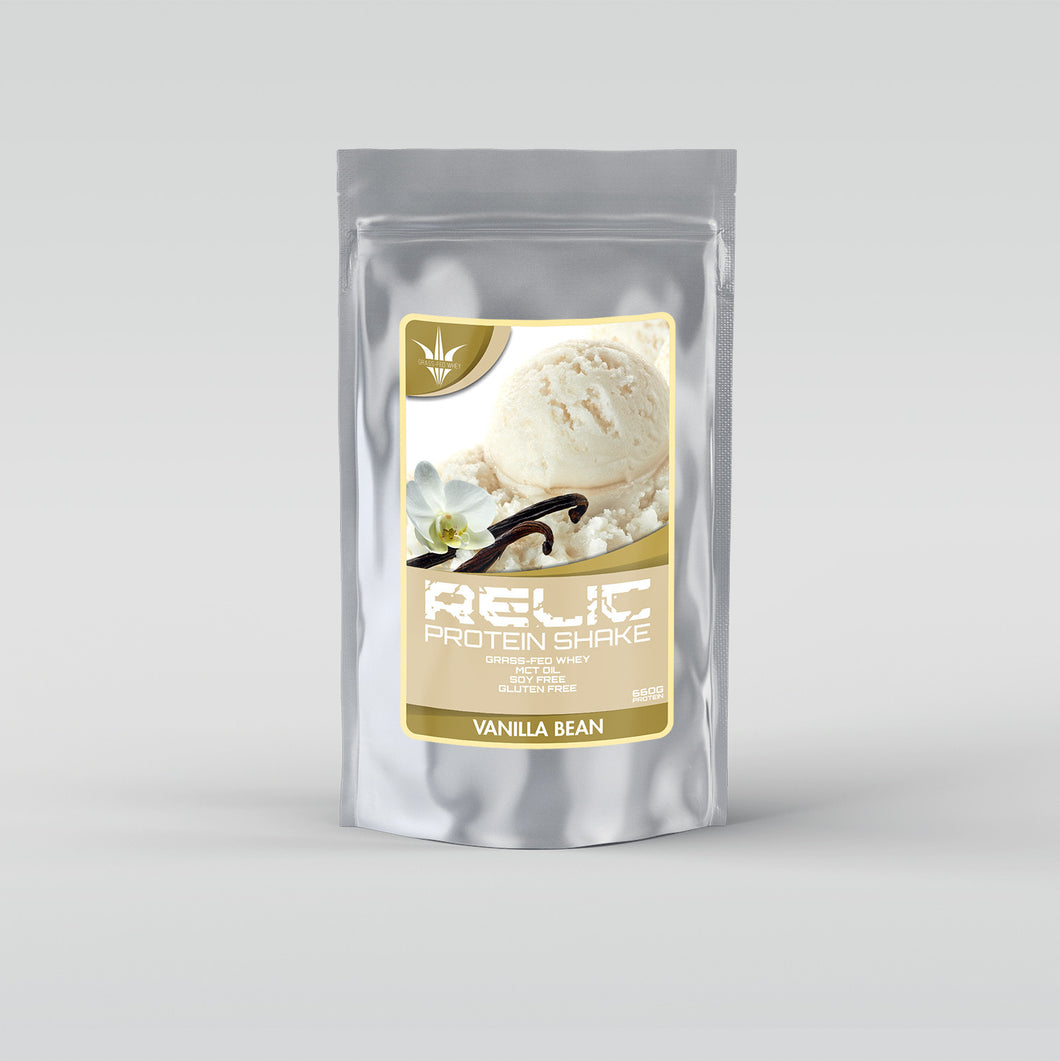 Grass Fed Whey - Vanilla Bean