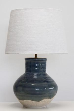 Deep Sea Blue Lamp Base