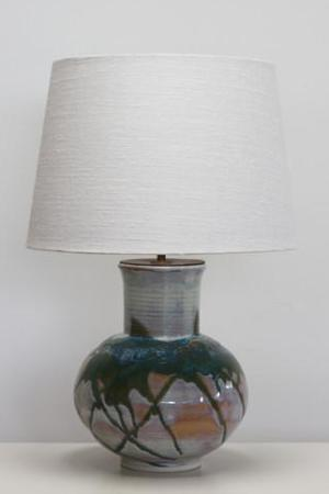 High Country Sunrise Lamp Base