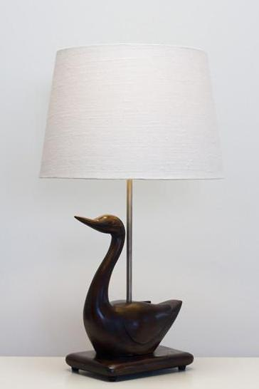 Duck Wooden Lamp