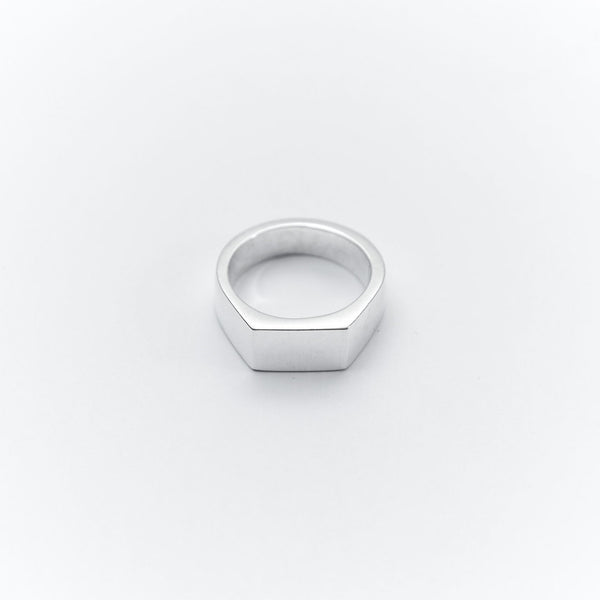 Cameron Studio 003 Rectangle Signet Ring - Pict Clothing