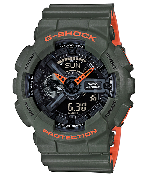 G-Shock Neon Layered Color - Pict Clothing
