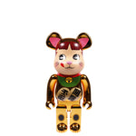 Medicom BE@RBRICK Manekineko Peko Gold Plated 1000% - Pict Clothing