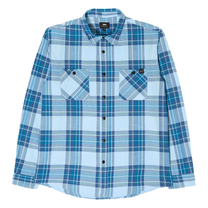 Edwin Labour Shirt Cool Blue - Pict Clothing
