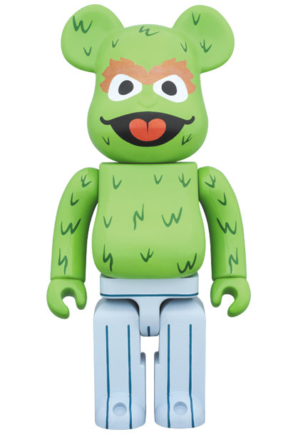 BE@RBRICK Oscar The Grouch 400% - Pict Clothing