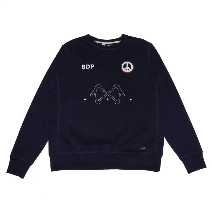 Bleu de Paname Sweat Bdpaix Marine - Pict Clothing
