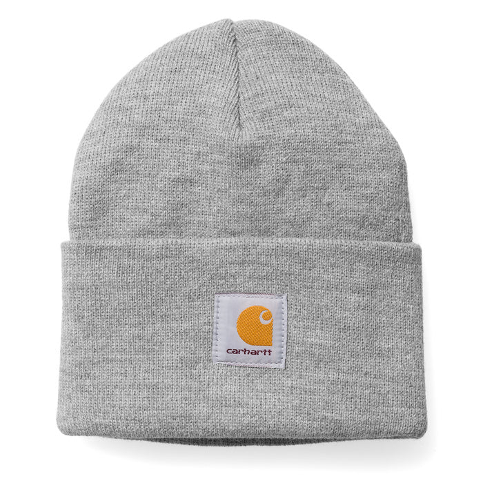 Carhartt Acrylic Watch Hat Grey Heather - Pict Clothing