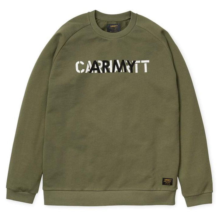 Carhartt CA Training Sweatshirt Rover Green - Pict Clothing