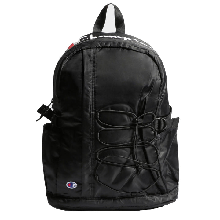 Champion Script Bag Black - Pict Clothing