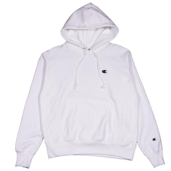 Champion W Reverse Weave Hoodie White - Pict Clothing