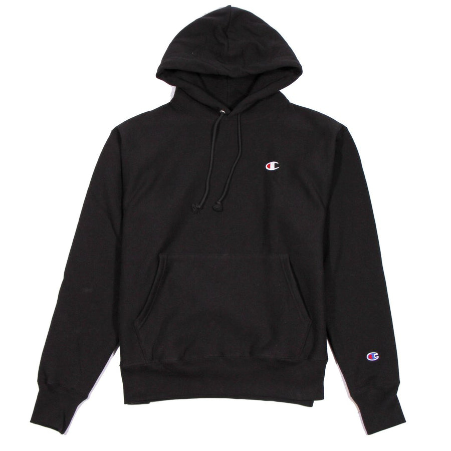 Champion W Reverse Weave Hoodie Black - Pict Clothing