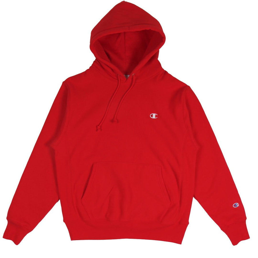 Champion W Reverse Weave Hoodie Red Spark - Pict Clothing
