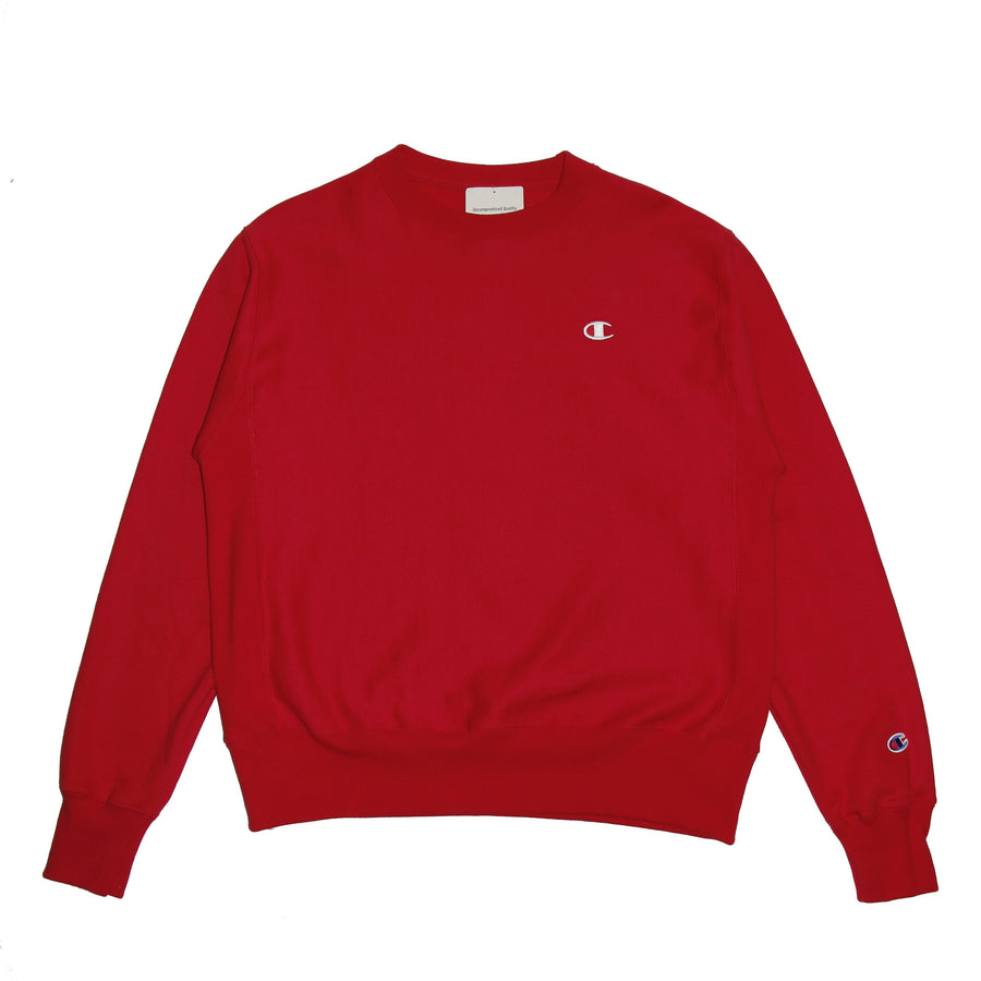 Champion Reverse Weave Crew Red - Pict Clothing