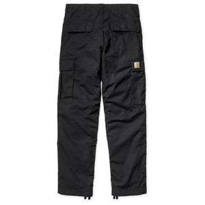 Carhartt Regular Cargo Pant Black Rinsed - Pict Clothing