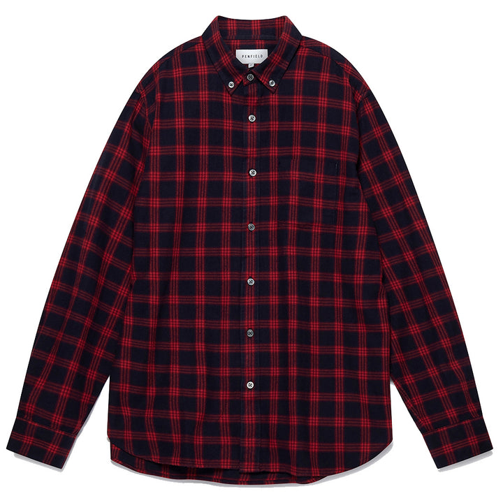 Penfield Corey Shirt Red - Pict Clothing