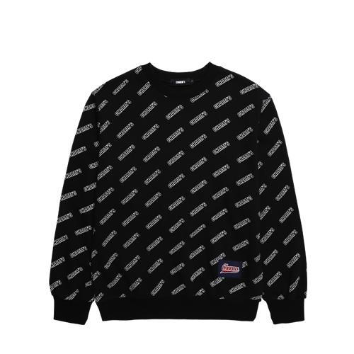 Charms Logo Pattern Sweater Black - Pict Clothing