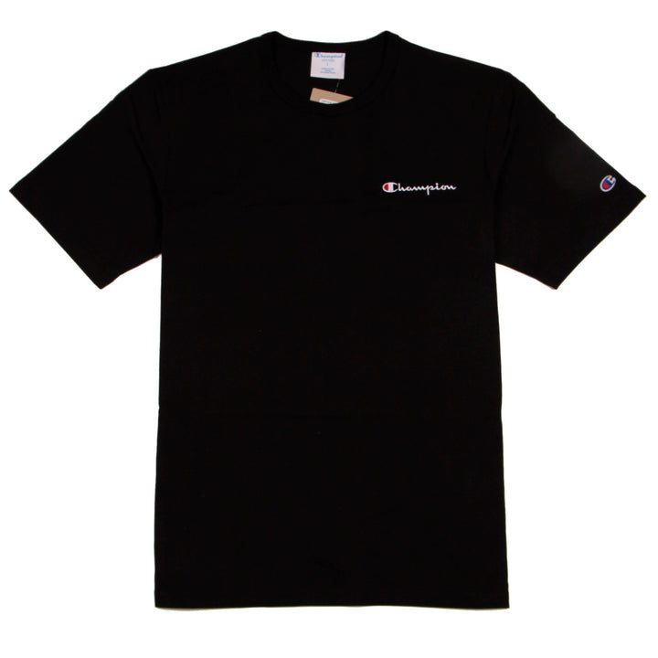 Champion Heritage Tee LC Script Black - Pict Clothing