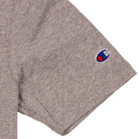 Champion Heritage Tee LC Script Oxford Grey