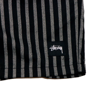 Stussy Stan Stripe Beachshort Black/White - Pict Clothing
