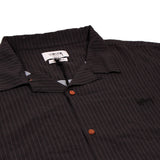 Stussy Stock Pattern Rayon SS Shirt Black/Charcoal