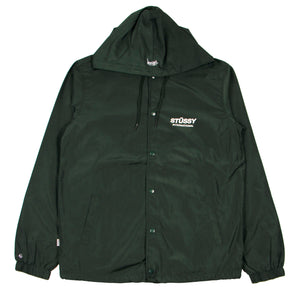 Stussy 1980 Coaches Jacket Bottle - Pict Clothing