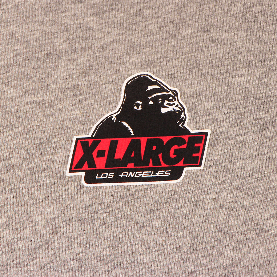 X Large Los Angeles Tee Grey