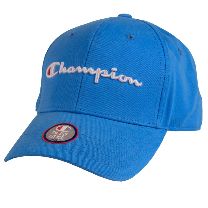 Champion Classic Twill Hat Active Blue - Pict Clothing