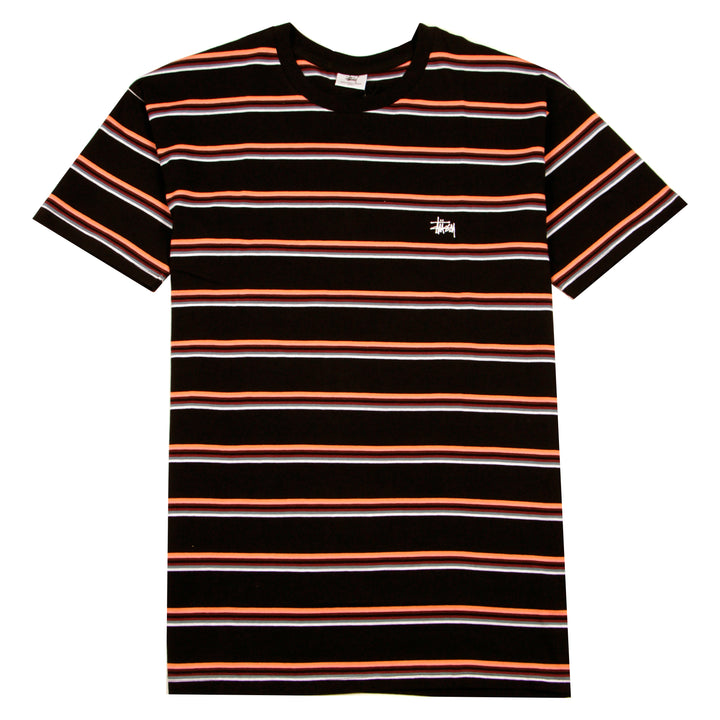 Stussy Graffiti YD Stripe Tee Black