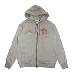 Maharishi Stencil Tiger Chest Hooded Sweat - Pict Clothing