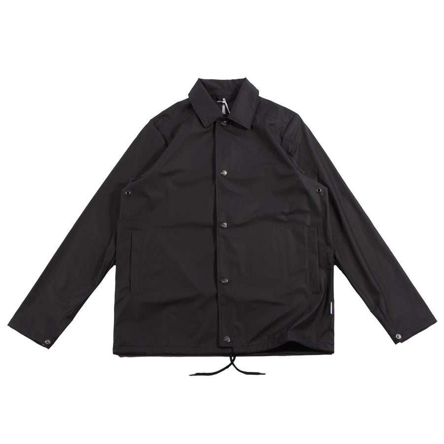 Rains Coach Jacket Black - Pict Clothing