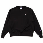 Champion Reverse Weave Crew Black