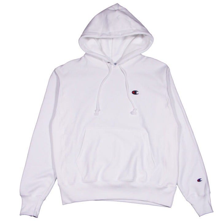 Champion Reverse Weave Hoodie White - Pict Clothing