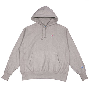 Champion Reverse Weave Hoodie Oxford Grey - Pict Clothing