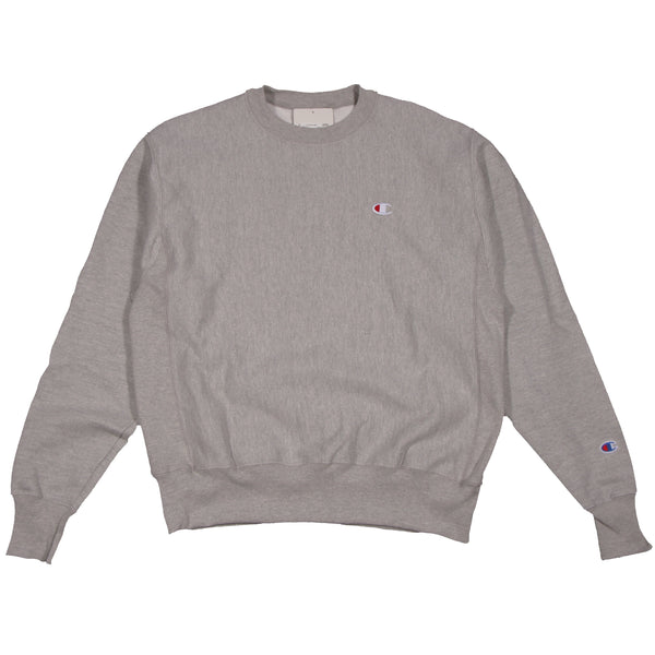 Champion Reverse Weave Crew Oxford Grey