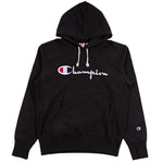 Champion Europe Rev Weave Script Hoodie - Pict Clothing