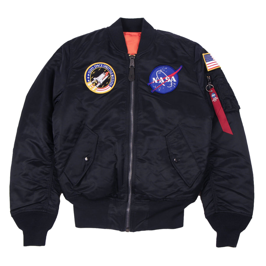 Alpha MA-1 NASA Replica Blue - Pict Clothing