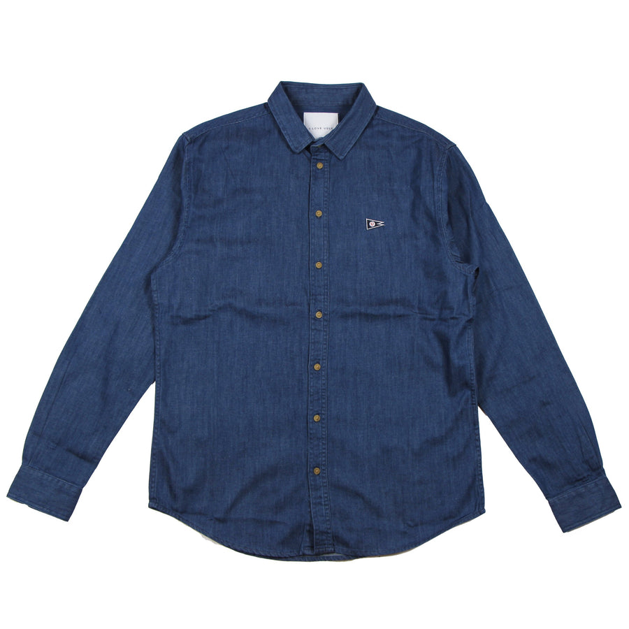I Love Ugly Essential Shirt Mid Stonewash - Pict Clothing