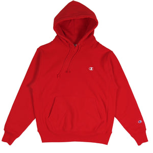 Champion Reverse Weave Hoodie Team Red Scarlet - Pict Clothing